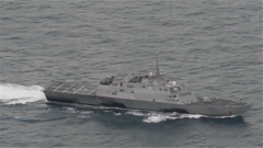 """美军""""查菲""""号驱逐舰12名船员确诊新冠肺炎"""