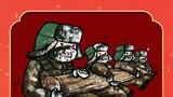 练兵备战。