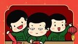   新春佳节,万家团聚。人们放松身心,陪伴在亲人身边,享受天伦之乐。那么,军人如何在部队过春节呢?一组漫画带您了解。图为写春联。
