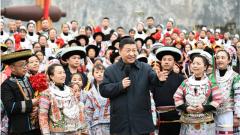 黔山秀水喜迎春——习近平总书记春节前看望慰问贵州各族干部群众