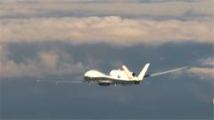 """杜文龙:美国""""海神""""无人机再现台西南空域 台两架战机升空""""欢迎"""""""