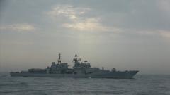 【春节 我们在战位守护万家团圆】海军舰艇编队:节日不忘战备 确保全时待战