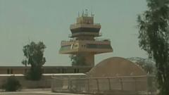 伊拉克一空军基地遭火箭弹袭击