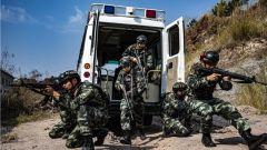 广西玉林:武警官兵开展春季练兵活动