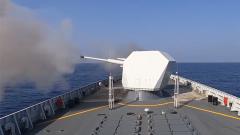 实弹射击 直升机起降 这场远海联合训练看得过瘾