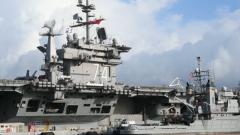 """美海军""""斯坦尼斯""""号为何选择此时大修? 杜文龙:""""躲避""""疫情条件下的部署"""