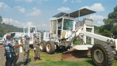 """刚果(金):首次装备核查 中国维和工兵分队""""全优""""通过"""
