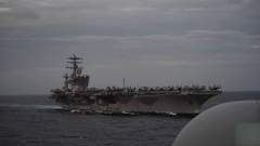 """【以""""中俄威胁""""作幌子 美密集提升军力】美防长:有必要在全球部署军舰"""
