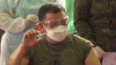 菲律宾陆军正式开始接种中国疫苗