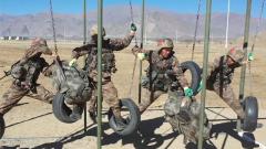 陆军第77集团军:海拔3700米高原实战化练兵比武正酣