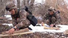 新疆塔城:边防连新兵迎来首次综合性考核