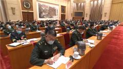 出席十三届全国人大四次会议 解放军和武警部队代表团成立