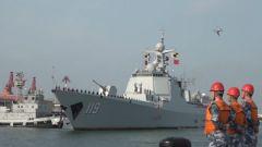 海军第36批护航编队完成任务胜利凯旋