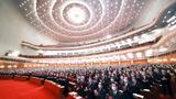 3月5日,第十三届全国人民代表大会第四次会议在北京人民大会堂开幕。新华社记者 庞兴雷 摄