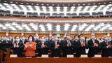 3月8日,十三届全国人大四次会议在北京人民大会堂举行第二次全体会议。新华社记者 张领 摄
