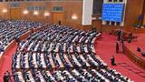 3月11日,第十三届全国人民代表大会第四次会议在北京人民大会堂举行闭幕会。新华社记者 岳月伟 摄