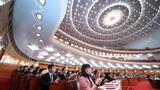 3月11日,第十三届全国人民代表大会第四次会议在北京人民大会堂举行闭幕会。新华社记者 庞兴雷 摄