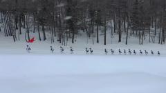 雪海孤岛:红山嘴边防连茫茫雪海砺精兵