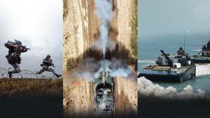 【军视界】犁波踏浪砺精兵 海军陆战队训练现场就是这么燃