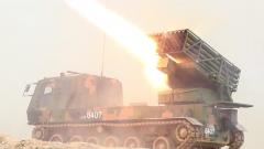 加速战斗力生成 新列装火箭炮完成首射