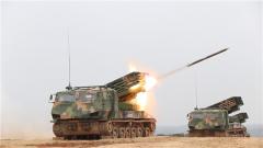 【第一军视】威力强悍 陆军新列装火箭炮完成首射