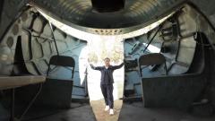 """打开飞机后舱盖!军迷带你揭秘""""米-8""""直升机内部"""