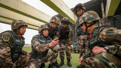 天津武警:强化人装结合能力 打造过硬反恐力量