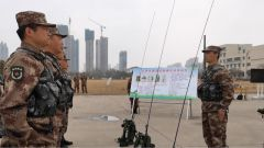 比武集训 强化新质民兵力量建设