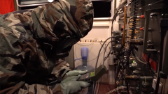 火箭军某部:夜间通信演练 锻造合格信息尖兵