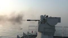 北部战区海军某作战支援舰支队开展高强度全要素实战化训练