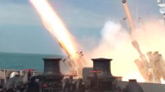 【直击演训场】海军某驱逐舰支队高强度实弹射击演练