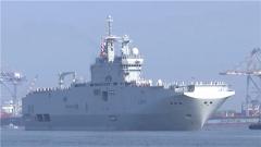 法两艘舰艇抵印 欲与美日澳印在孟加拉湾军演