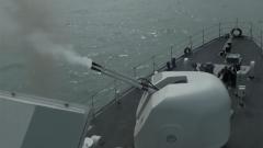 南部战区海军多型扫雷舰艇开展多课目实战化训练