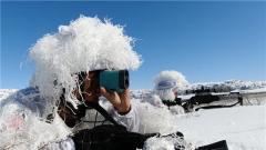 直击演训场丨精准高效 特战尖兵开展雪地红蓝对抗演练