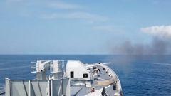查问题 找短板!海军某驱逐舰支队开展实战训练