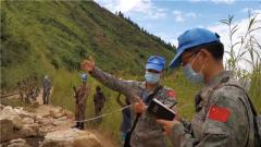 刚果(金):中国蓝盔完成14处损毁路段工程勘察任务