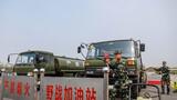 组织开展任务车辆加油训练。