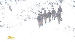 四月飞雪 新战士踏上高原巡逻路