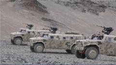 海拔4500米 新型防护突击车迎来首次连进攻战术演练