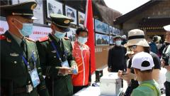 【节日 我们在战位上】武警官兵坚守执勤一线 保障游客出行安全