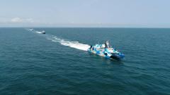【節日 我們在戰位上】南海海域 導彈快艇編隊實戰化訓練