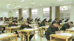 武警安徽总队组织考生开展2021年院校招生预考