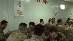 有米有面有点心!这份高原边防官兵的大餐, 是不是看饿了?
