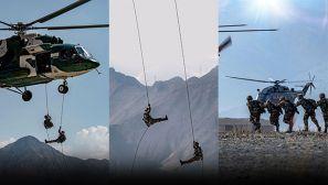 【軍視界】直擊高原特戰女兵首次直升機武裝機降
