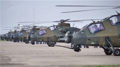 【直击演训场】多型武装直升机跨区突击实弹演练