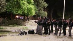 巴以在东耶路撒冷发生冲突 200多人受伤
