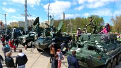 白俄罗斯举办活动纪念卫国战争胜利76周年