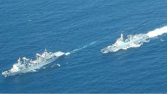 亚丁湾:护航编队协同训练 提升遂行任务能力