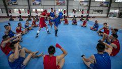 武警广西总队桂林支队组织搏击教练员集训