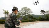 无人机升空侦察火情